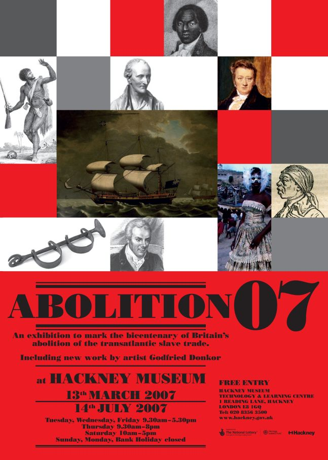 Hackney Archives Abolitions Poster